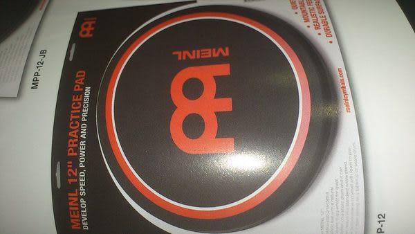 凱傑樂器 MEINL 打點板 12 吋