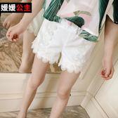 媛媛公主童裝女童褲子兒童休閒褲女寶寶褲子女童短褲梗豆物語