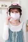 小心空污 附檢驗報告【成人-粉紅色】(A級高效能) 檢驗抗UV達74% 柔軟舒適透氣 台灣製無異味
