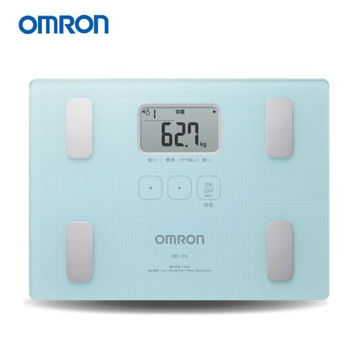 OMRON 歐姆龍體脂計 HBF-216(淺藍色)-(贈可愛小熊皮尺)HBF-212進階版
