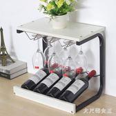紅酒架 擺件高腳杯架倒掛家用 葡萄酒展示酒托實木創意現代簡約 mj13753【大尺碼女王】