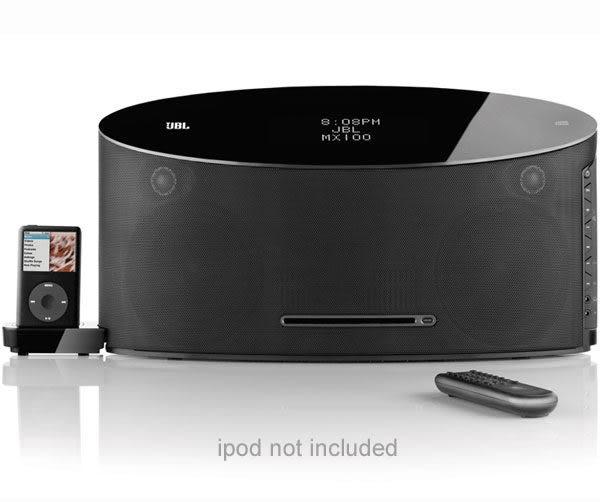 經典數位~JBL iPhone/iPod 專用頂級音箱播放器MX100~加贈藍芽接收器~支援iPhone5及各式藍芽手機