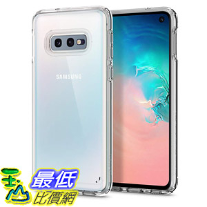 [8美國直購] 手機保護殼 Spigen Ultra Hybrid Designed for Samsung Galaxy S10e Case (2019) Crystal Clear B07MK3WDFM