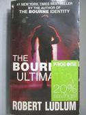 【書寶二手書T2/原文小說_MDQ】The Bourne Ultimatum_Ludlum, Robert