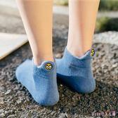 女襪子棉質厚秋季淺口加絨毛圈襪冬天超厚韓版可愛笑臉保暖襪 DR4050【Rose中大尺碼】