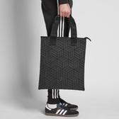 J- adidas Shopper 3D 三宅一生 購物袋 黑 全黑 男女款 三葉草 基本款 托特包 方便 DY2969