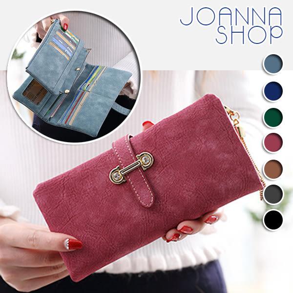 長夾 日韓流蘇吊飾磨砂大容量長夾-Joanna Shop