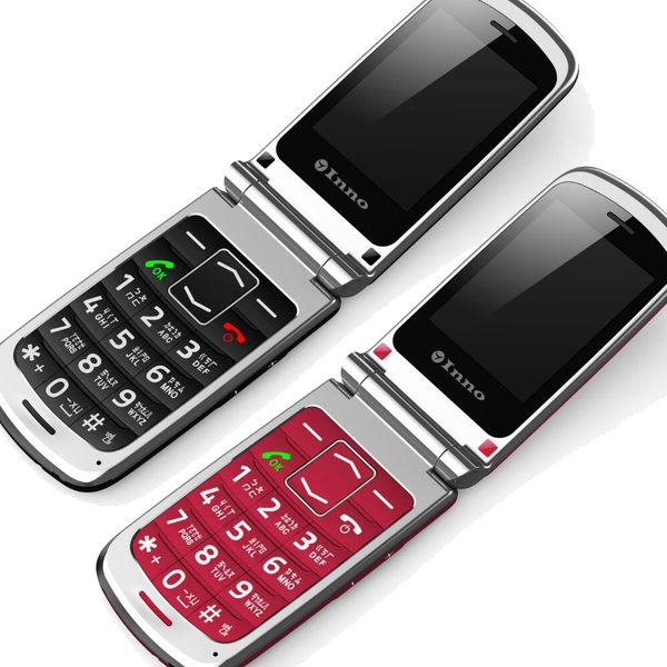 【拆封新品】INNO T26 2.4吋 折疊式手機 老人機 3G 送贈品 福利品 出清