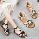 百搭涼鞋網紅女鞋平底鞋仙女鞋沙灘鞋夏季新款學生羅馬鞋時尚