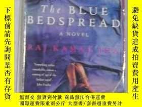 二手書博民逛書店英文原版罕見The Blue Bedspread by Raj