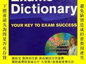二手書博民逛書店16開精裝罕見英國出版意大利印刷 Longman Exams Dictionary [Paperback] 原版進