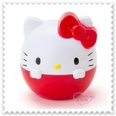 ♥小花花日本精品♥ Hello Kitty 護唇膏 保濕 潤唇 單入組 球形 蛋形 紅色 蘋果味 66626107