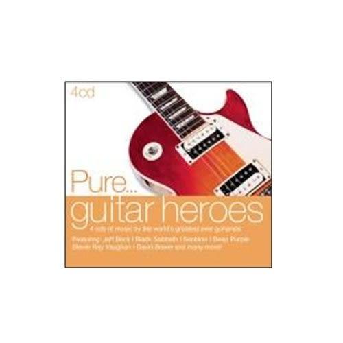 純搖滾 吉他英雄榜 CD 4片裝 Pure Guitar Heroes 天蠍合唱團 黑色