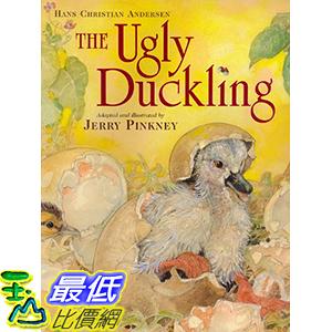 [106美國直購] 2017美國暢銷兒童書 The Ugly Duckling (Caldecott Honor Book)