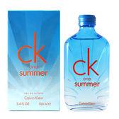 CK ONE SUMMER 2017夏日限量版淡香水100ml【Emily 艾美麗】