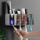 牙刷架牙刷置物架全自動擠牙膏器網紅漱口杯子女家用套裝多功能電動創意