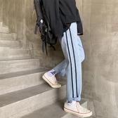 牛仔褲男寬鬆直筒嘻哈墜感闊腿褲寬管褲寬褲子老爹復古潮流九分百搭學生 【快速出貨】
