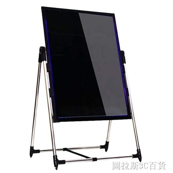 led電子熒光板廣告牌彩色夜光閃光展示宣傳商用手寫字發光小黑板QM 圖拉斯3C百貨