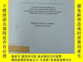二手書博民逛書店英文書罕見commonwealth arbitration reports volume 140 聯邦仲裁報告 1