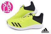 adidas慢跑鞋 FortaRun K 童/女段 緩震舒適 透氣運動鞋 O9330#綠色◆OSOME奧森童鞋 零碼出清