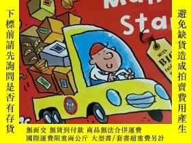 二手書博民逛書店delivery罕見man Stan 兒童讀物 英文版Y42402
