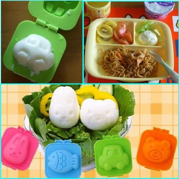 冰皮月餅模 兔子小熊  魚車2入蛋模組 飯團模  想購了超級小物