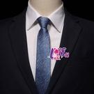 依芝鎂-K1210手打領帶中窄領帶窄版領...