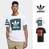 【GT】Adidas Originals 黑白 短袖T恤 純棉 運動 休閒 上衣 短T 愛迪達 基本款 三葉草 Logo
