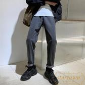 牛仔褲男韓版寬松直筒褲子秋冬休閒長褲【繁星小鎮】