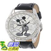 [103美國直購] 手錶 Disney Unisex MK1015 Mickey Mouse Silver Dial Black $941