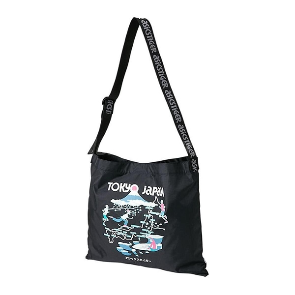 Asics 托特包 Sports Moment Tote 黑 粉紅 男女款 斜背包 東京 Tokyo 運動休閒 【ACS】 3193A095002