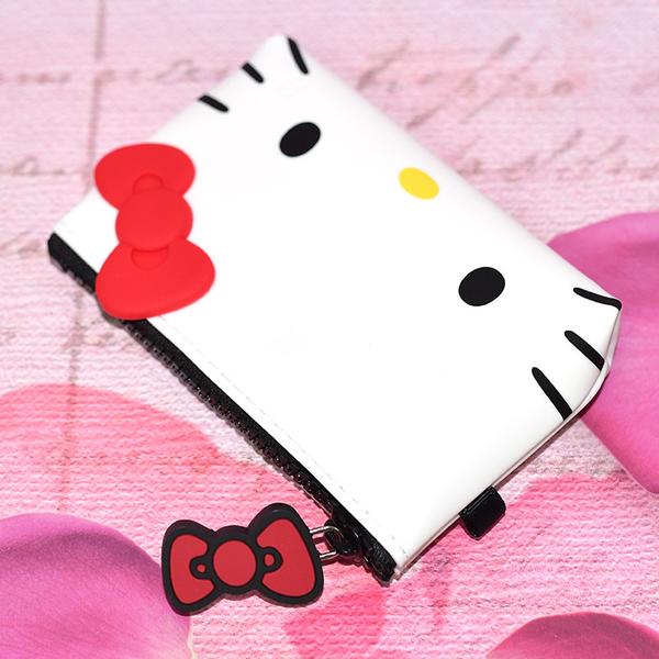 Hello Kitty 矽膠錢包 小物包 p+g design 日本正版