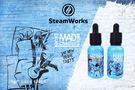 【 沃德維普】SteamWorks 藍瓶 瘋狂莊園 叛逆男孩 30ml 電子果汁