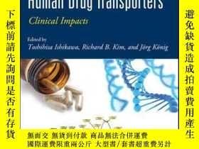 二手書博民逛書店Pharmacogenomics罕見of Human Drug Transporters: Clinical Im
