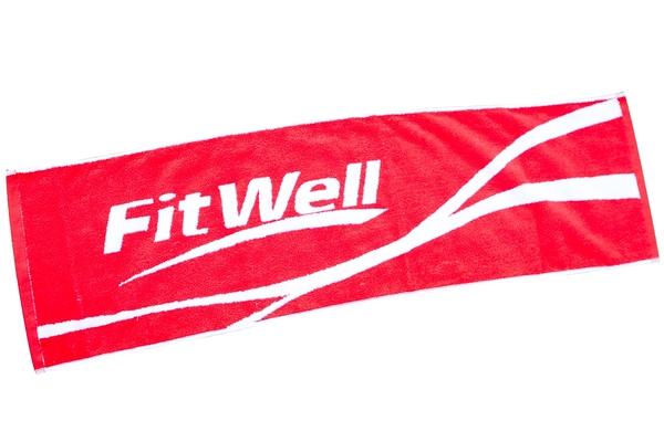 【Fitwell】加寬版雙色緹花運動毛巾