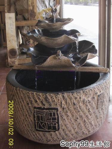 古典噴泉流水擺件