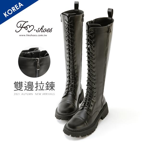 靴.雙拉鍊高跟長靴-FM時尚美鞋-韓國精選.In good shape