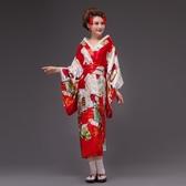 日本和服女禮服裙傳統正裝COS寫真動漫表演裝【步行者戶外生活館】