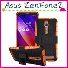 Asus ZenFone2 5.5吋/5吋 輪胎紋手機殼 全包邊背蓋 矽膠保護殼 支架保護套 PC+TPU手機套