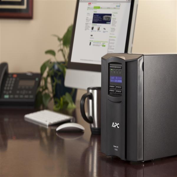 ◤全新品 含稅 免運費◢ 艾比希 APC Smart-UPS 1500VA LCD 120V 在線互動式不斷電系統 UPS (SMT1500TW)