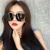 太陽眼鏡 墨鏡女2020新款潮時尚街拍大框ins圓臉顯瘦韓版復古網紅太陽眼鏡 寶貝計畫