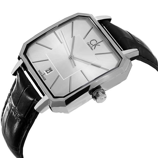 CK - 時尚方形概念男錶 ck手錶 男錶女錶對錶