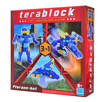 【日本 Kawada 河田】Terablock 迷你積木 無齒翼龍 TBH-004
