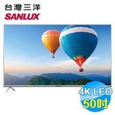 台灣三洋 SANLUX 50吋4K聯網液晶電視 SMT-50MF1