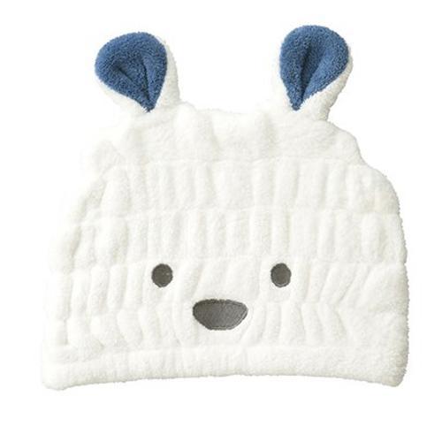 【毛巾髮帽】日本carari zooie 可愛動物造型 超細纖維 浴帽 吸水速乾 大人小孩都適用【小福部屋】