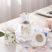 【熊貓】創意家用可愛卡通小叉陶瓷不銹鋼
