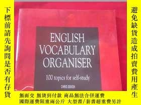 二手書博民逛書店English罕見Vocabulary Organiser:10