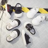 兒童板鞋 新款嬰兒鞋兒童軟底寶寶學步鞋1-3歲2單鞋小白鞋Mandyc
