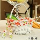 快樂購 水果籃雞蛋籃菜籃子野餐籃創意手提籃
