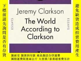 二手書博民逛書店The罕見World According To Clarkson (penguin Celebrations)